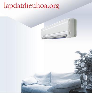 Dàn lạnh điều hòa cần lắp ở nơi có thể phân phối hơi lạnh đều