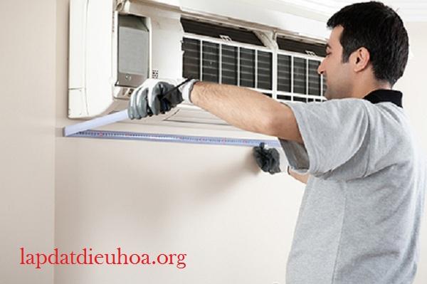 Dàn lạnh được lắp đúng cách sẽ khiến quá trình tỏa nhiệt lan đều khắp phòng
