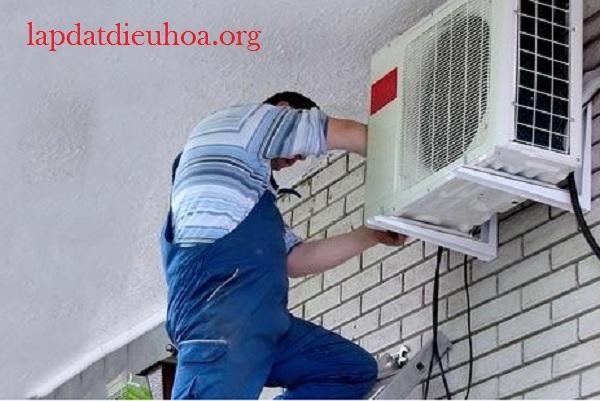 Dàn nóng điều hòa cần được lắp đặt ở nơi thông thoáng