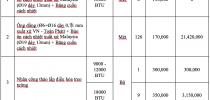 Biên bản nghiệm thu tháo dỡ, lắp đặt điều hoà (mẫu chuẩn)